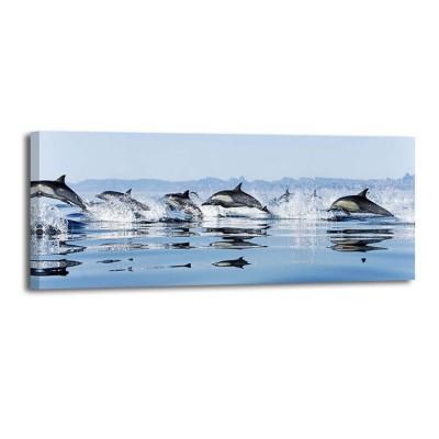 Anónimo - Delfines en el Golfo de California