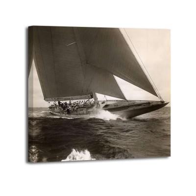 Edwin Levick - J Class Sailboat