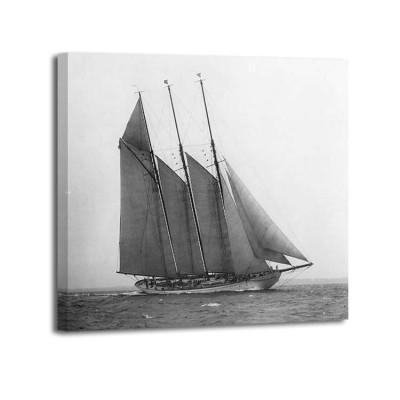 Edwin Levick - The Schooner Karina at Sail 1919