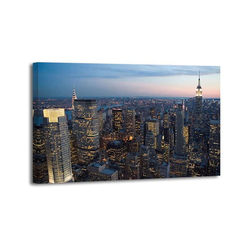 Anónimo - Manhattan at dusk