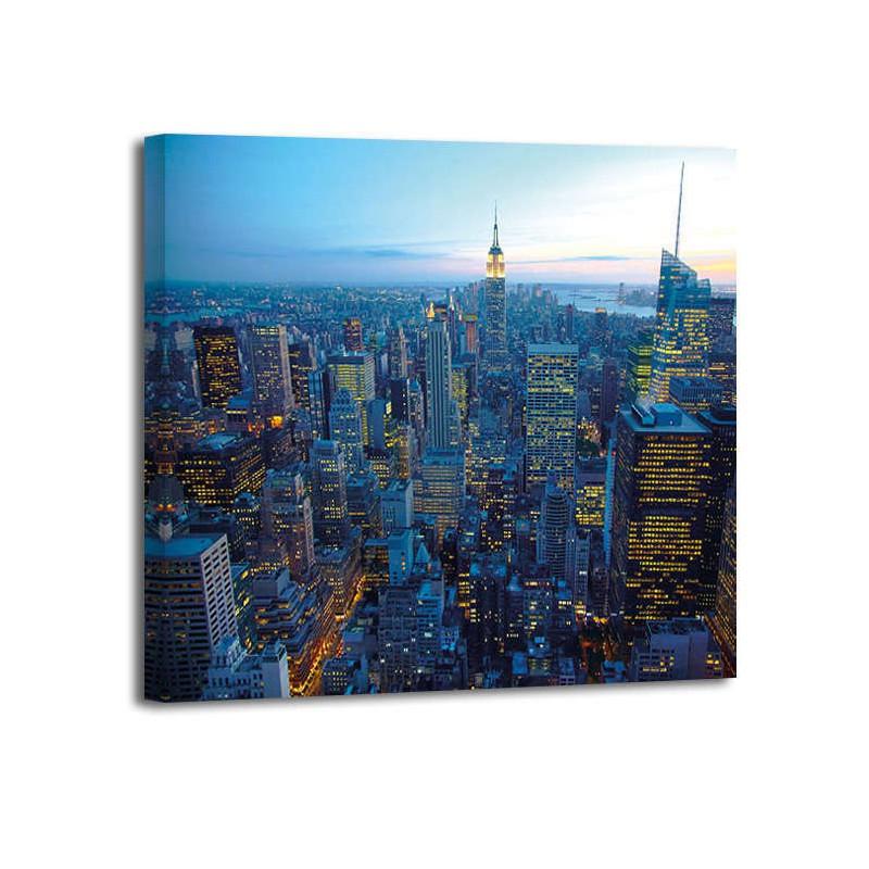 Anónimo - NYC Skyline at dusk