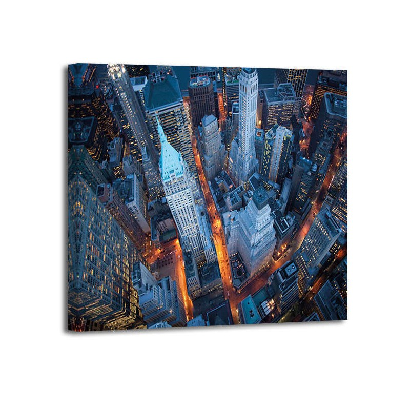 Cameron Davidson - Aerial Vies of Wall Street