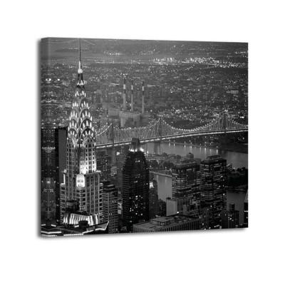 Murat Taner - Chrisler Building and Queensboro Bridge - copia (F)
