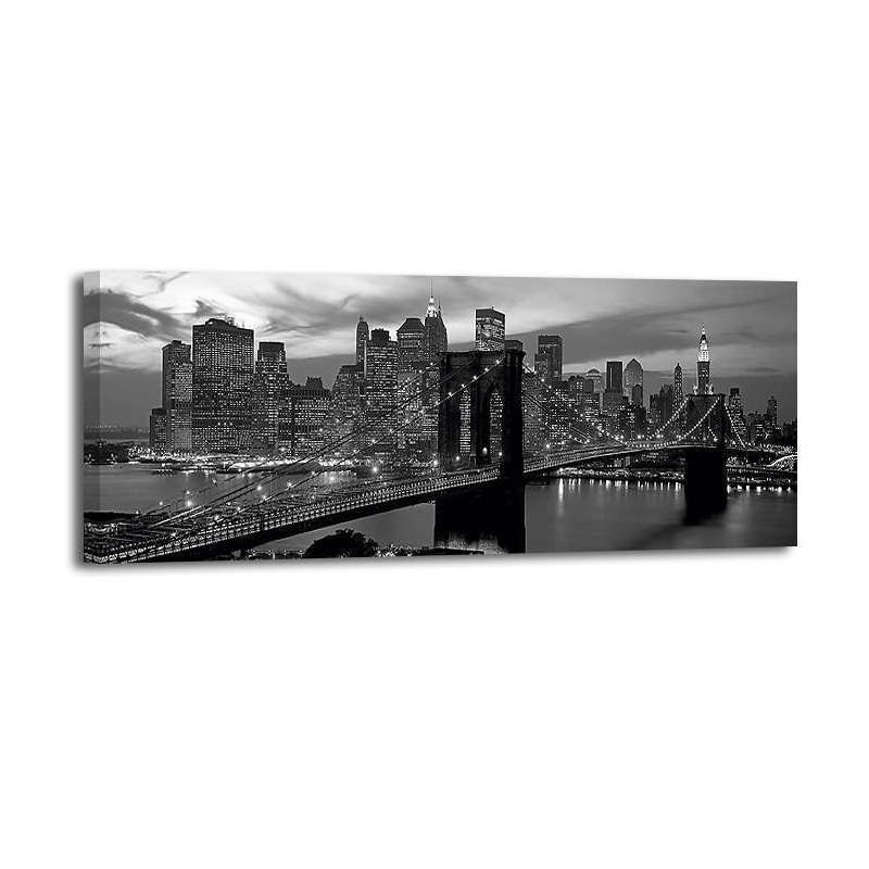 Richard Berenholtz - Brooklyn Bridge and Skyline