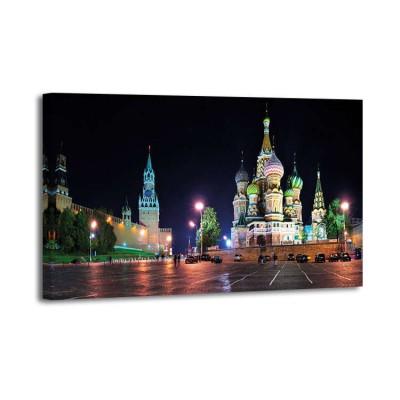Vadim Ratsenskiy - Red Square at night Moscow