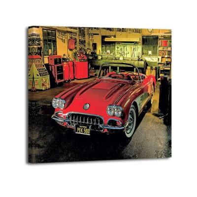 Derek Gardner - 1958 Chevrolet Corvette in Garage