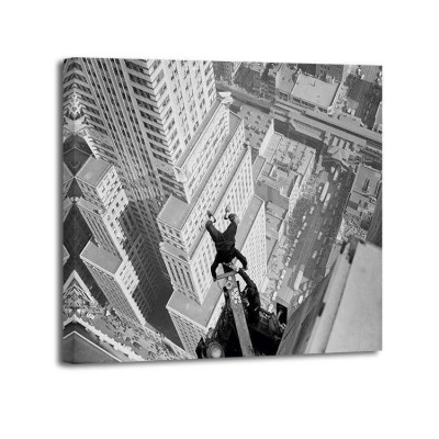 Anónimo - Headstand over Manhattan 1939