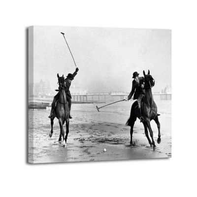 Anónimo - Polo Players by the sea