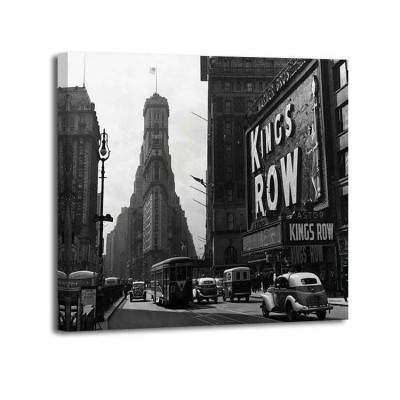 Anónimo - View of Times Square 1942
