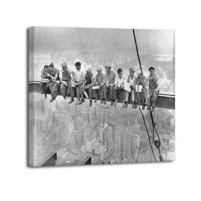 Charles C Ebbets - NY Construction workers on a Crossbeam 1932