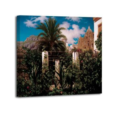 Frederic Leighton - Garden of an Inn, Capri