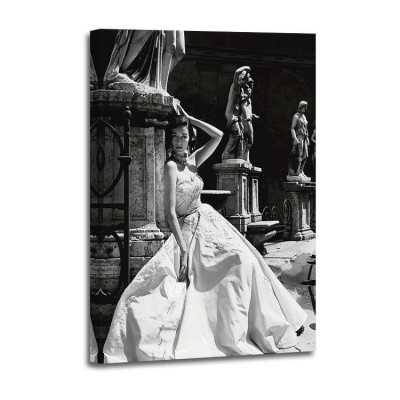 Genevieve Naylor - Evening Gown Colosseo Roma 1952