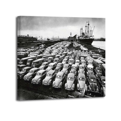 Hans Marx - First shipment of Beetles to America 1956