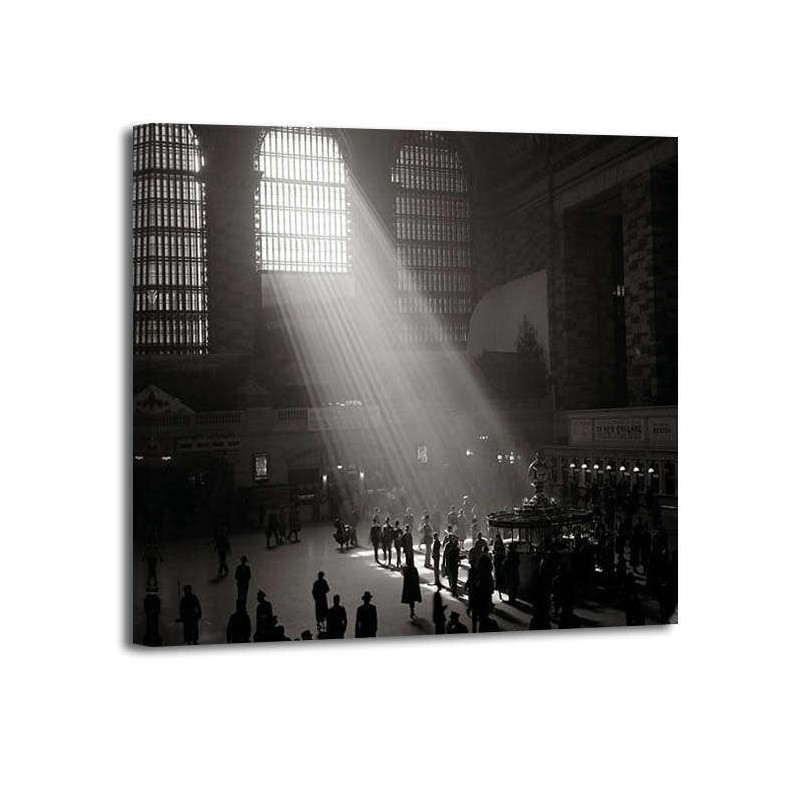 Philip Gendreau - Subterranean Shinning into Grand Central Station NYC
