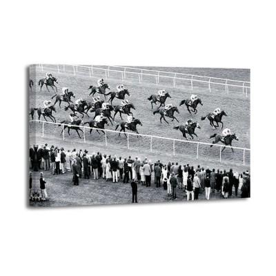 Robert Hallam - Horse Racing, Newbury, Britain