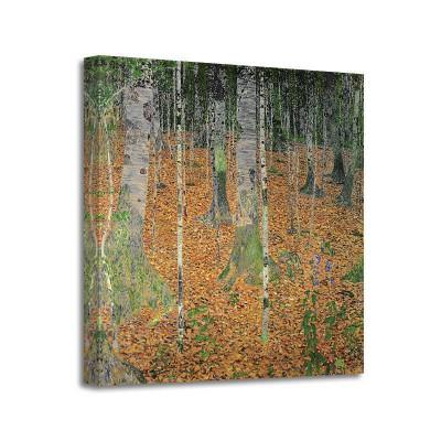 Gustav Klimt - The Birch Wood