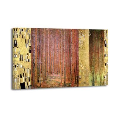 Gustav Klimt - Pattern Forest 1