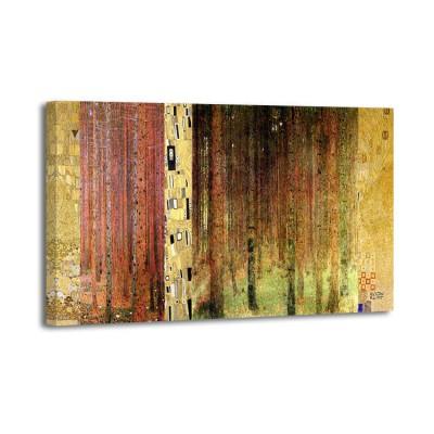 Gustav Klimt - Pattern Forest 2