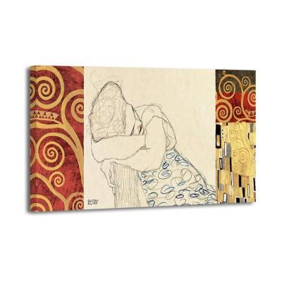 Gustav Klimt - Pattern Woman Resting