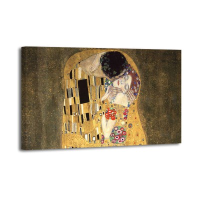 Gustav Klimt - The embrace plata
