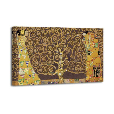 Gustav Klimt - Tree of Life (brown)