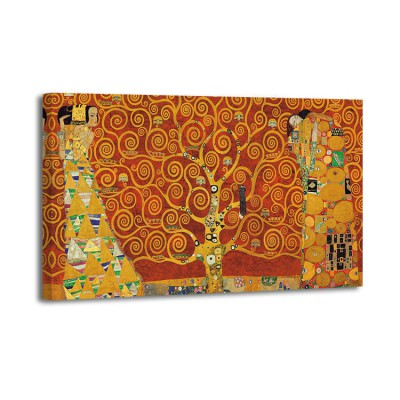 Gustav Klimt - Tree of Life (red)