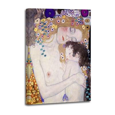Gustav Klimt - Le Tre etá della donna (det)