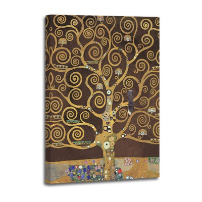 Gustav Klimt - Tree of Life (brown variation) (det)