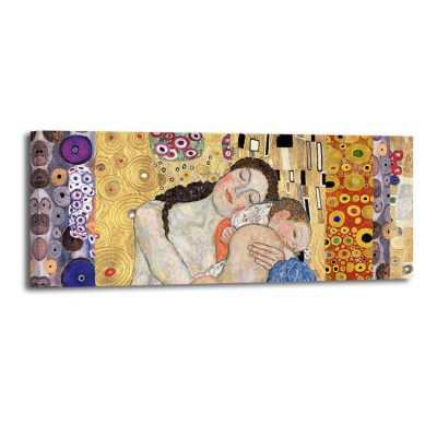 Gustav Klimt - Deco panel Death and life