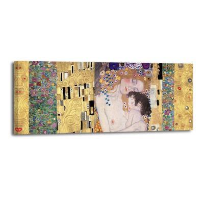 Gustav Klimt - Deco panel Three ages of woman