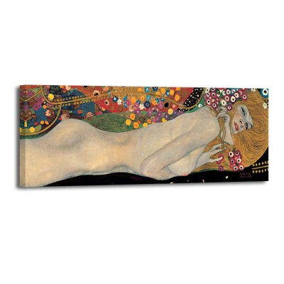 Gustav Klimt - Sea Serpents 2 (det)