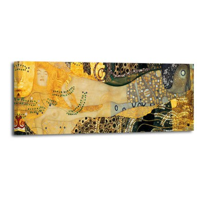 Gustav Klimt - Water Serpents (det)