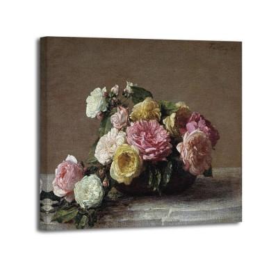 Henri Fantin-Latour - Roses dans une coupe