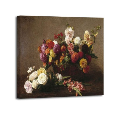 Henri Fantin-Latour - Voici des fleurs de la mi ete