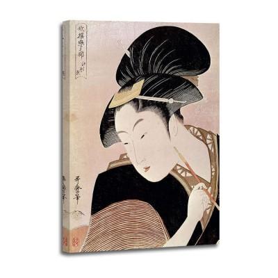 Kitagawa Utamaro - Portrait de femme