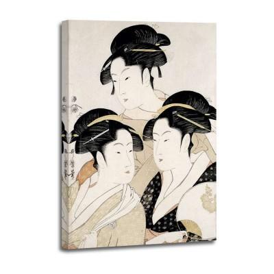 Kitagawa Utamaro - Trois beautes de notre temps