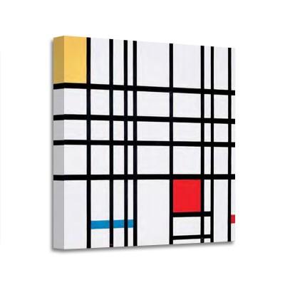 Pien Mondrian - Composition avec rouges jaunes et bleus