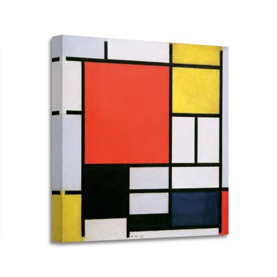 Pien Mondrian - Composition with Lines and Colors