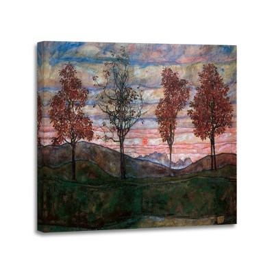 Egon Schiele - Fiour Trees