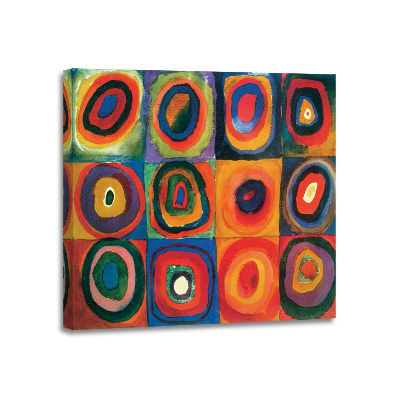 Wassily Kandinsky - Squares with Concentric Circles