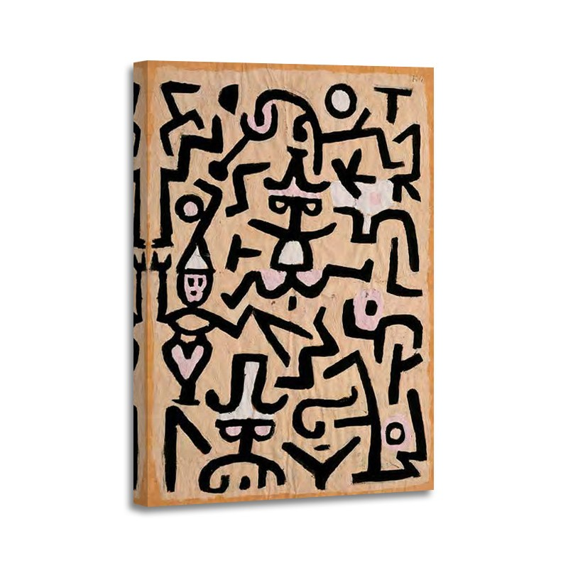 Paul Klee - Comedians´ Handbill