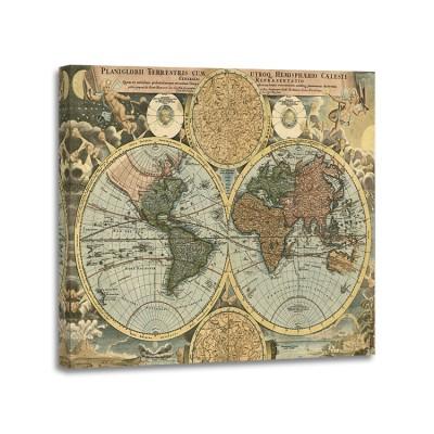 Johanne Baptist Homann - Planiglobii terrestris 1716