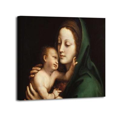 Anónimo - Madonna con Bambino