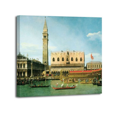 Canaletto - The Bucintoro at the Molo on Ascension Day